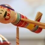 15.11.13 カメラリポート ~巣鴨とげぬき地蔵尊・弥治郎系伝統こけし製作実演~